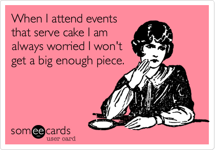 When I attend events