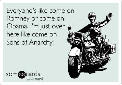 Everyone's like come on