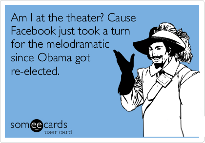 Am I at the theater? Cause