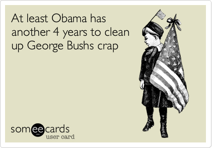 At least Obama has
