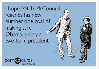 I hope Mitch McConnell
