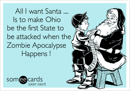 All I want Santa ....