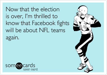 Now that the election