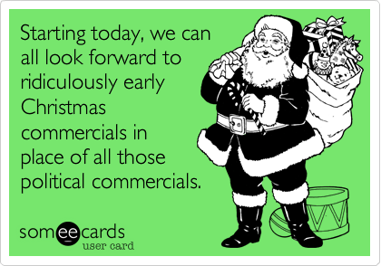 Starting today, we can