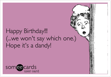 Happy Birthday!!!