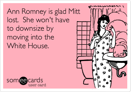 Ann Romney is glad Mitt