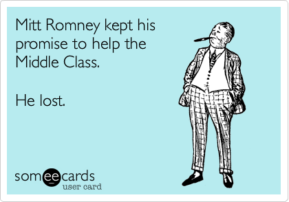 Mitt Romney kept his