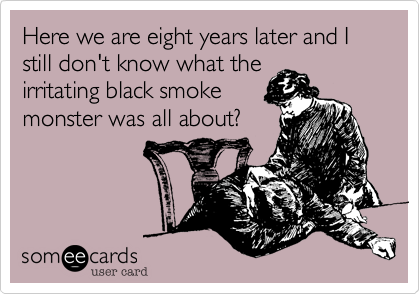 Here we are eight years later and I still don't know what the