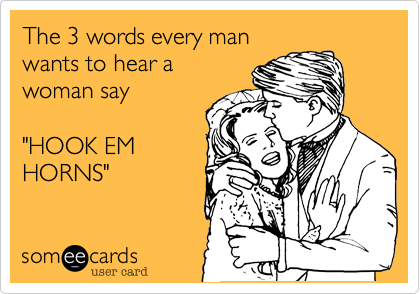 The 3 words every man