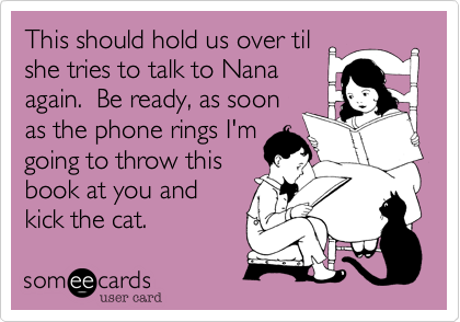 This should hold us over til