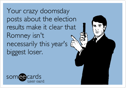 Your crazy doomsday