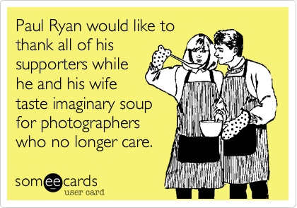 Paul Ryan would like to 
