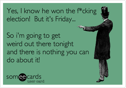 Yes, I know he won the f*cking