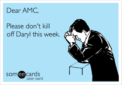 Dear AMC,