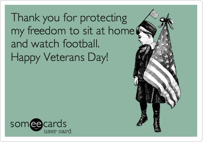 Thank you for protecting