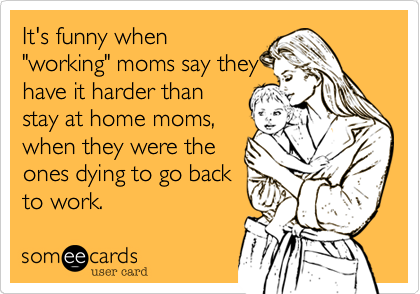 It's funny when