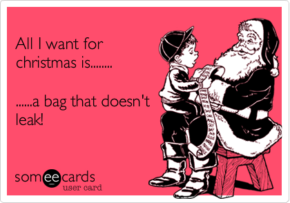 All I want for
