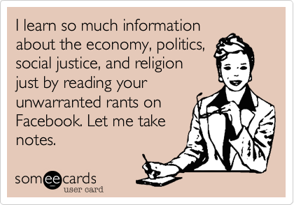 I learn so much information