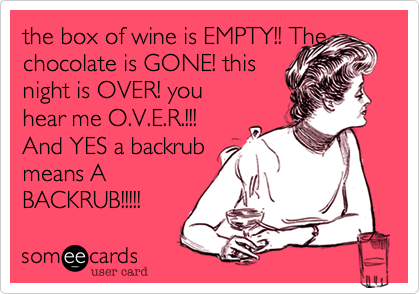 the box of wine is EMPTY!! The