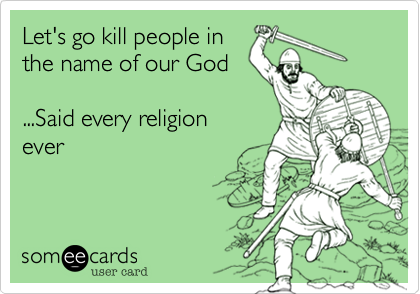 Let's go kill people in