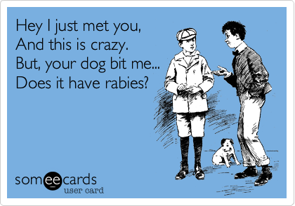 Hey I just met you,