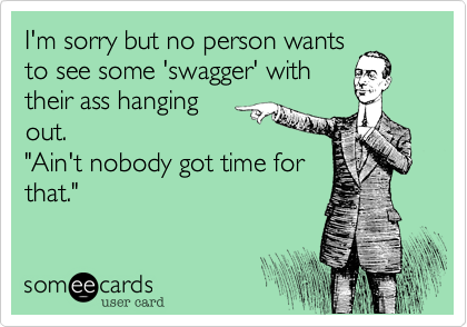 I'm sorry but no person wants