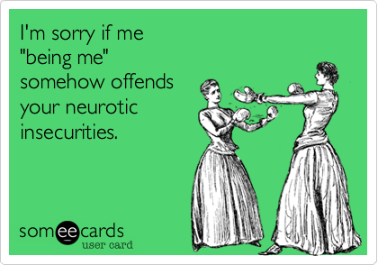 I'm sorry if me 