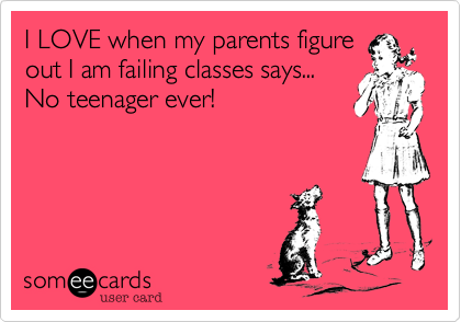 I LOVE when my parents figure