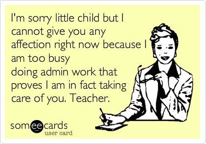 I'm sorry little child but I
