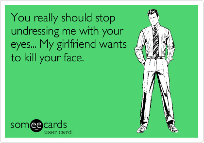 You really should stop