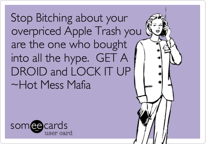 Stop Bitching about your