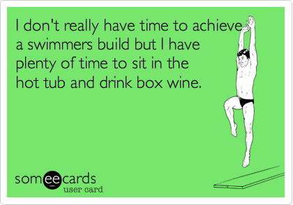 I don't really have time to achieve