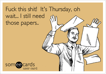 Thursday ecards