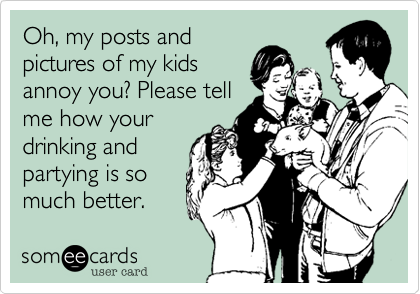 Oh, my posts and
