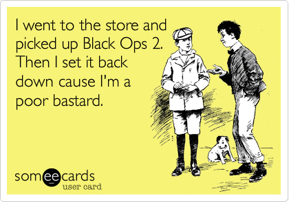 I went to the store and
