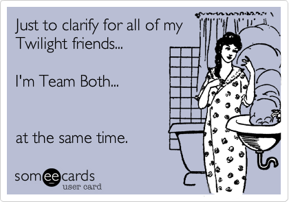 Just to clarify for all of my