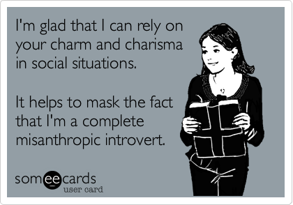 I'm glad that I can rely on