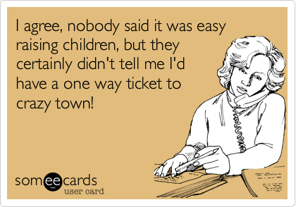 I agree, nobody said it was easy