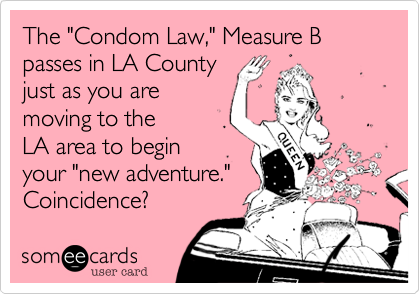 "The ""Condom Law,"" Measure B passes in LA County