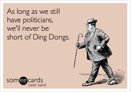 As long as we still 