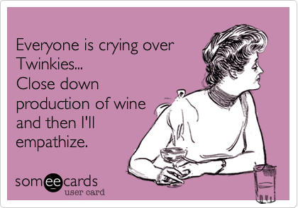 Everyone is crying over