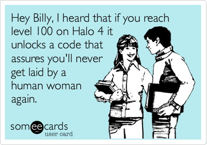 Hey Billy, I heard that if you reach level 100 on Halo 4 it