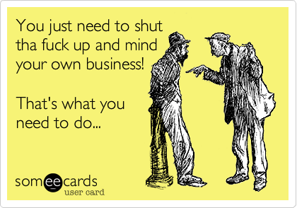 You just need to shut