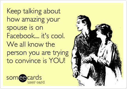 Keep talking about