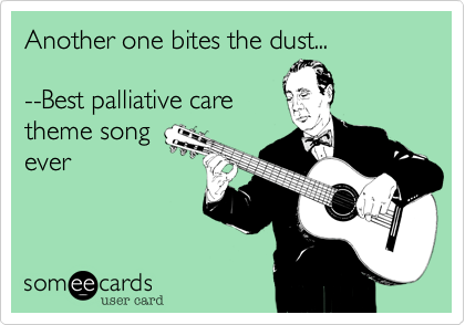 Another one bites the dust...