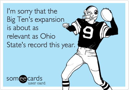 I'm sorry that the 