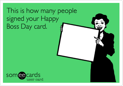 This is how many people