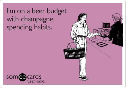 I'm on a beer budget