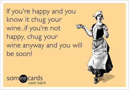 If you're happy and you