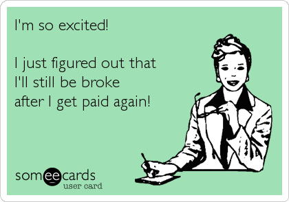 I'm so excited!